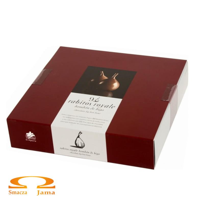 Bombonierka Rabitos Royale Figi w czekoladzie deserowej 142g