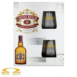 Whisky Chivas Regal 12 YO 0,7l + 2 szklanki