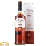 Whisky Bowmore 15 YO Darkest 0,7l