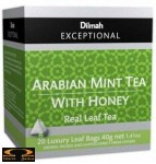 Herbata Dilmah Arabian Mint Tea with Honey  miętowa i miodowa 20 torebek