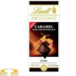 Czekolada Lindt Excellence Carmel with a Touch of Sea Salt 100g