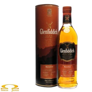 Whisky Glenfiddich 14YO Rich Oak 0,7l