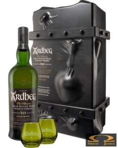 Whisky Ardbeg 10 YO Escape Pack 0,7l