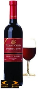 Wino Teliani Valley Alazani Red Gruzja 0,75l