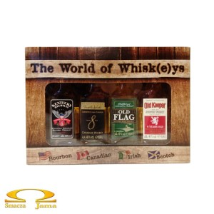 Zestaw The World of Whisk(e)ys 4 miniaturki 4x0,04l