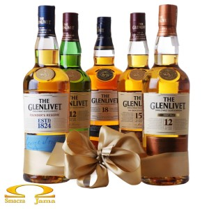 Zestaw whiskies The Glenlivet 5x0,7l