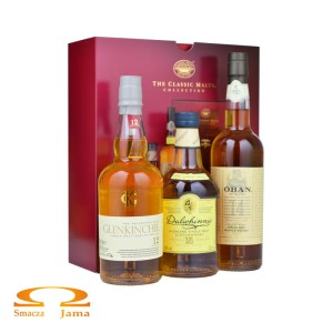 Zestaw whisky The Classic Malts Collection 3x0,2l