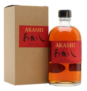 Whisky Akashi 6YO Red Wine Single Malt 50% 0,5l