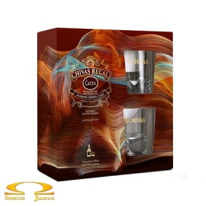 Whisky Chivas Regal Extra 0,7l + 2 szklanki