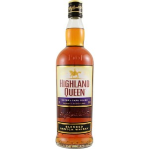 Whisky Highland Queen Blended Scotch Whisky Sherry Cask 40% 0,7l