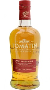 Whisky Tomatin Cask Strength Single Malt Scotch Whisky 57,5% 0,7l