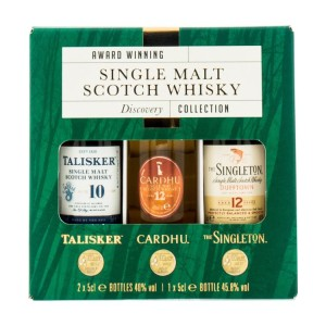 Whisky Discovery Collection 3x0.05l miniaturki