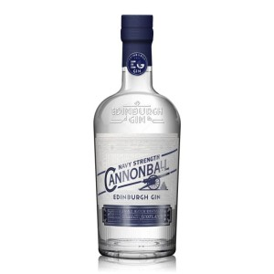 Gin Edinburgh Cannonball Navy Strength 57,2% 0,7l