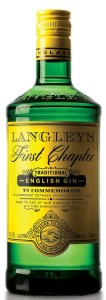 Gin Langley`s First Chapter English 38% 0,7l