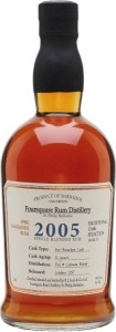 Rum Foursquare Cask Selection Vintage 2005 59% 0,7l