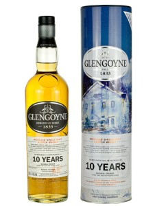 Whisky Glengoyne 10YO Jolomo Tin Winter 43% 0,7l w tubie