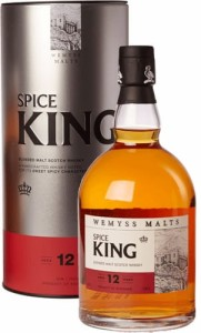 Whisky Spice King 12 YO 40% 0,7l w tubie