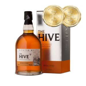 Whisky The Hive Blended Malt 46% 0,7l w kartoniku