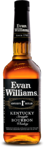 Bourbon Evan Williams Black 43% 0,7l