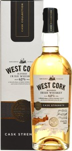 Whiskey West Cork Cask Strength 62% 0,7l