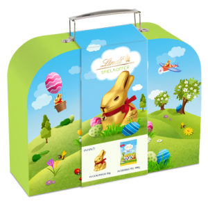 Walizka Lindt GOLD BUNNY SUITCASE 235g