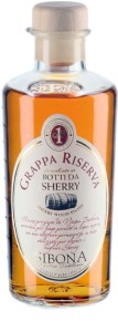 Grappa Sibona aged in sherry wood 40% 0,5l