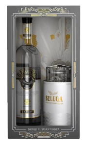 Wódka Beluga Noble 40% 0,7l + Caviar Dish Set