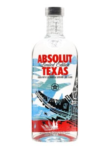 Wódka Absolut Texas 40% 0,75l