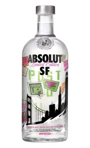 Wódka Absolut San Francisco 40% 0,75l