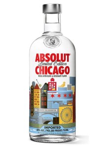 Wódka Absolut Chicago 40% 0,75l