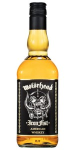 Whiskey Motorhead Iron Fist American Prime Whiskey 40% 0,7l