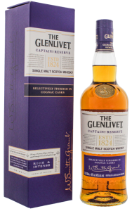 Whisky Glenlivet Captain's Reserve Cognac Cask Finish 40% 0,7l