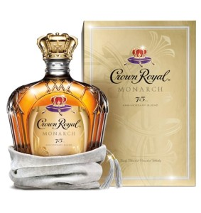Whisky Crown Royal Monarch 75th Anniversary 40% 0,75l