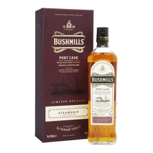 Whiskey Bushmills Steamship Port Cask 40% 0,7l