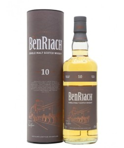 Whisky BenRiach 10YO 43% 0,7l