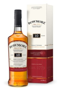 Whisky Bowmore 10YO Dark & Intense 40% 1l