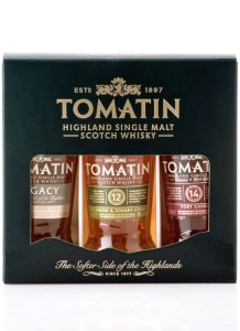 Zestaw miniaturek whisky Tomatin Coopers Choice Set 3x0,05l