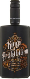 Wino Kings of Prohibition Shiraz Australia 14% 0,75l
