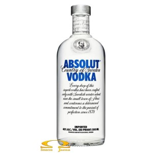 Wódka Absolut Blue 0,5l
