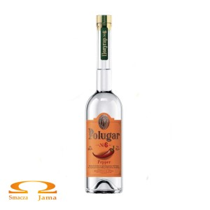 Wódka Polugar No 6 Pepper 38,5% 0,5l