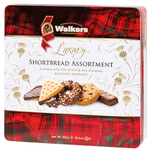 Ciastka Walkers Luxury Shortbread Assortment 300g w puszce