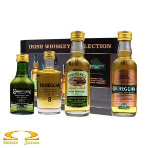 Zestaw Irish Whiskey Collection 4 miniaturki 4x0,05l