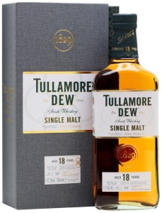 Whiskey Tullamore Dew 18 YO 0,7l