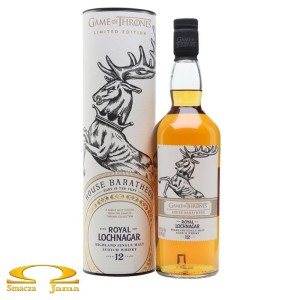 Whisky Royal Lochnagar 12 YO House Baratheon Gra o Tron 0,7l