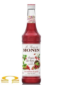 Syrop POZIOMKA Wild Strawberry Monin 700ml