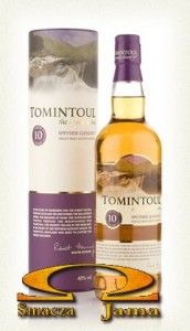 Whisky Tomintoul Gentle Dram Single Malt 10yo 0,7l