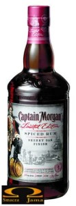 Rum Captain Morgan Sherry Oak Finish 0,7l Karaiby