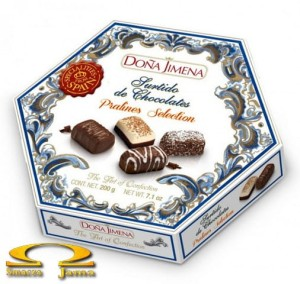 Bombonierka Doña Jimena Chocolates Assortment 200g