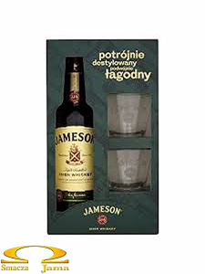 Whiskey Jameson 0,7l +2 szklanki