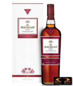 Whisky The Macallan 1824 Series:  Ruby 0,7l